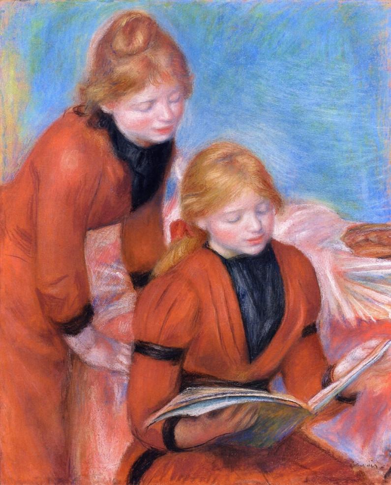 Reading, circa 1889